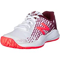 New Balance Girls 996v3 Tennis Shoes, Oxblood