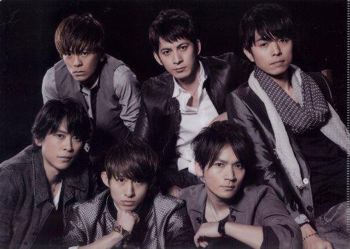 V6 公式グッズ V6 LIVE TOUR 2013 Oh! My! Goodness! クリアファイル【集合】 & 公式生写真【集合】セット