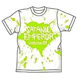 デトロイト・メタル・シティ サタニック・エンペラーTシャツ ホワイト サイズ:L