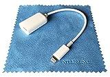 iNTE-E Direct 【即日出荷】 iPhone iPad用 USB A(メス)→Lightning(オス) Lightning OTG ケーブル ライトニングUSB 変換 カメラアダプター コネクター オーディオファン OTG対応USBホストケーブル iOSデバイス iNTE-4181 OTG