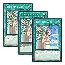 【 3枚セット 】遊戯王 英語版 LEHD-ENB17 Forbidden Lance 禁じられた聖槍 (ノーマル) 1st Edition