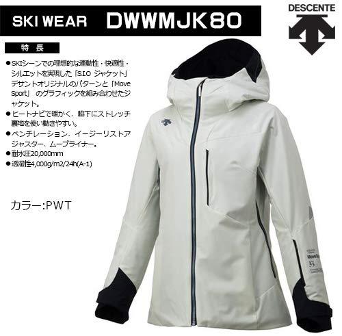 デサント スキーウェア ジャケット レディース LADIES' S.I.O JACKET 60 MOVE SPORT DWWMJK80 PWT S
