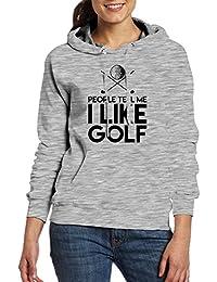 大人 レディース ポケット パーカー スウェットパーカー ゴルフ 英字 ロゴ ジャージ プルオーバー ゴルフ クール Ash