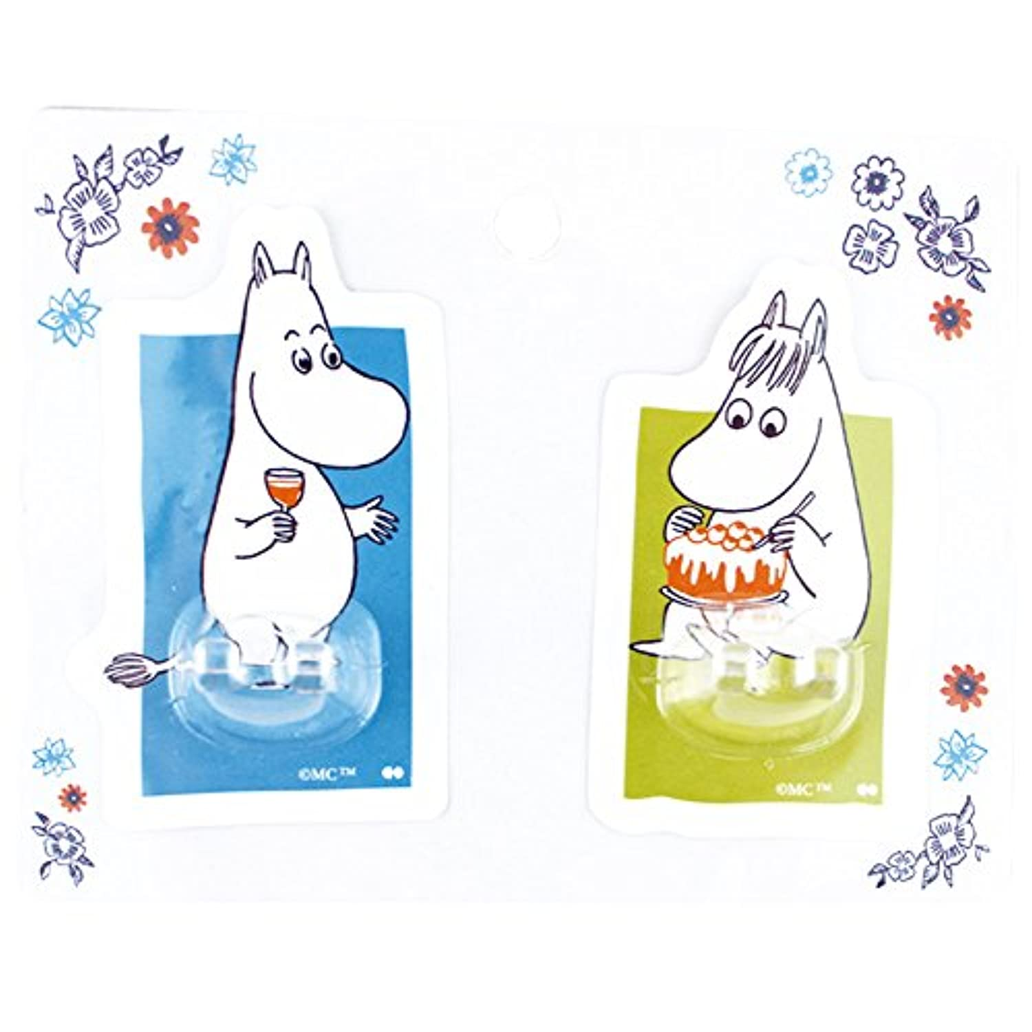 大西賢製 SHEET HOOK SET(2P) MOOMIN&SNORKMAIDEN MMB-800