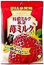 味覚糖 特濃ミルク8.2苺ミルク 80g×6袋