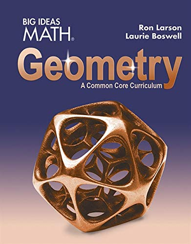 Download BIG IDEAS MATH Geometry: Common Core Student Edition 2015 1608408396