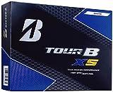BRIDGESTONE(ブリヂストン) ゴルフボール TOUR B XS (1ダース 12球入り)  8SGXJ Bマーク パールホワイト