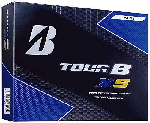 BRIDGESTONE(ブリヂストン) ゴルフボール TOUR B XS 1ダース( 12個入り) Bマーク パールホワイト 8SGXJ