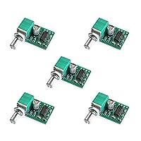 Ren He PAM8403 5V 電力 オーディオ アンプ ボード サポート USB 電源 2 チャンネル 3W 5個