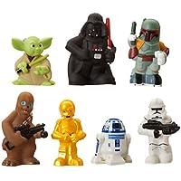 US Disney Parks - Star Wars Bath Toys (スター?ウォーズ - ソフビ人形/専用ケース付き) 【お風呂で使えます?】