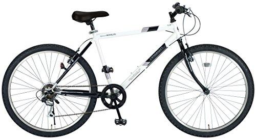 My Pallas(マイパラス) マウンテンバイク MTB M-610S-W 26インチ 6段変速 ホワイト