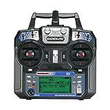 GoolRC GC6 2.4G 6CH AFHDS2A 無線システム 送信機 プロポ モード2 + GC-6 6CH 受信機 レシーバー RC ドローン ヘリコプター マルチコプター 飛行機用