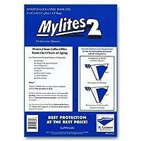 """Mylites 2Mil Comic Book Super Golden Ageサイズ81/ 4x 101/ 2"""" Plus 1–1/ 2""""フラップパックの50"""