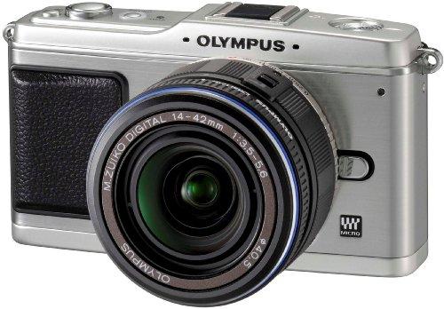OLYMPUS「PEN E-P1」レンズキット(LKIT-SLV)が49,770円