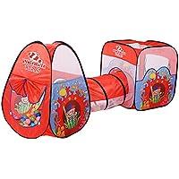 KidsアウトドアインドアFun Play Big Tent Play Houseベビーテント£¬ Ocean Fairy £¬ 3つ