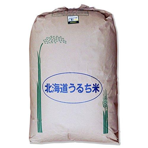 【玄米】北海道産 無農薬・JAS有機栽培米 ゆきひかり 29kg 令和元年産