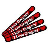 GREGORY I 愛グレゴリー両面ネイルファイルエメリーボードセット4パック