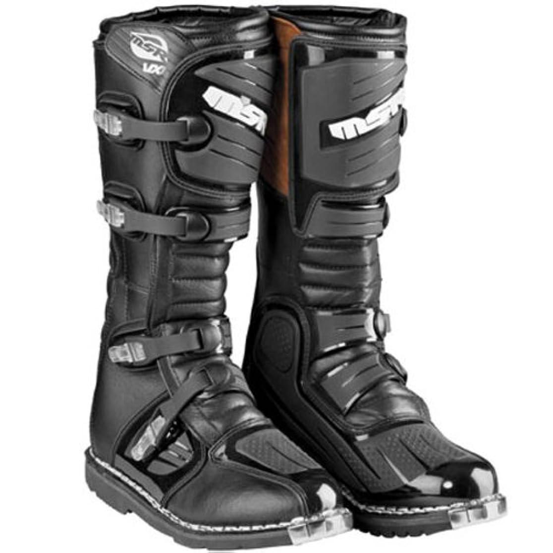 落ち込んでいる論文インフラMSR エムエスアール VX-1 Boots 2014モデル オフロード ブーツ ブラック 11(28cm)