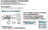 ポッシュ(POSH) ステンレスボタンキャップボルト M10X15mm(P1.25) 2本入り 911015-B2 画像