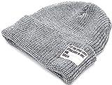 (マルカワジーンズパワージーンズバリュー) Marukawa JEANS POWER JEANS VALUE ニット帽 メンズ 帽子 ワッチ ミックス 4color Free ミディアムグレー