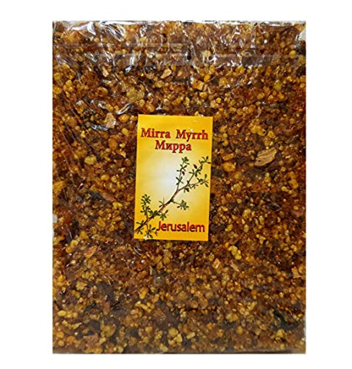 薬局パズル強化エルサレムFrankincense Myrrh Incense aromatic樹脂of the Holy Land 3.5 Oz/100 g