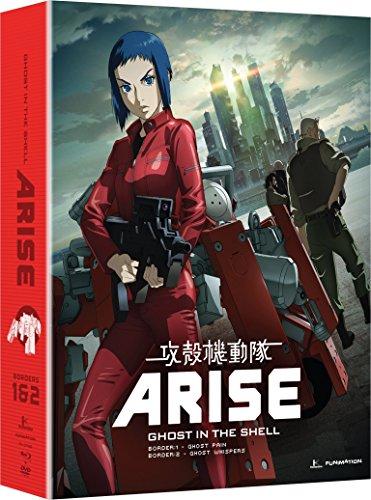 攻殻機動隊ARISE:Borders 1 & 2 北米版 / Ghost in the Shell: Arise - Borders 1 & 2 [Blu-ray+DVD][Import]