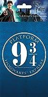Harry Potter(ハリー・ポッター) 9 3/4 Logo ステッカー/デカール