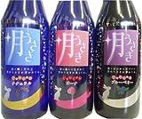 発泡清酒3種セット 梅乃宿 月うさぎ プレーン・ブルーベリー・ピーチ 300ml