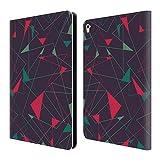 オフィシャル Tracie Andrews ライオット アブストラクト2 レザー手帳型ウォレットタイプケース Apple iPad Pro 9.7