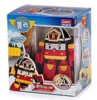 Robocar Poli Deluxe Transformer Toys Academy Robot Action Figures Korean Animation Kids Gift [Roi]