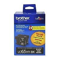 brtlc652pks–Brother高イールドブラックインクカートリッジ