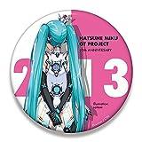 初音ミク レーシング Ver. 2013 ビッグ缶バッジ 10th 記念デザイン 5