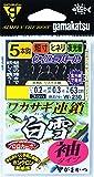 がまかつ(Gamakatsu) ワカサギ連鎖 白雪 袖 5本 W230 0.5-0.2.