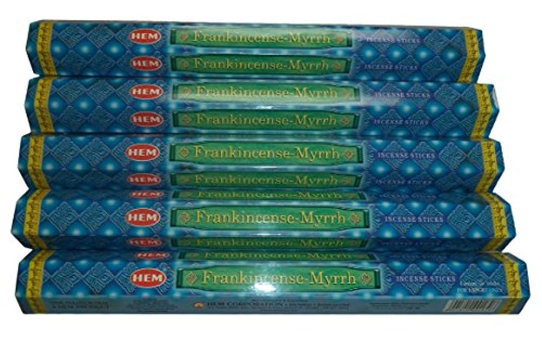 ロンドンリラックス帽子Hem Frankincense and Myrrh Incense Sticks by Hem