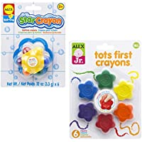 ALEX Toys Tots First Crayons And Star Bath (2パック) クレヨン マルチカラー