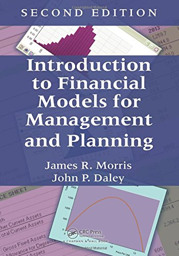 Download Introduction to Financial Models for Management and Planning 1498765033