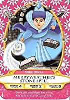 Sorcerers Mask of the Magic Kingdom Game, Walt Disney World - Card #67 - Merryweather's Stone Spell