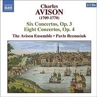 Avison: Concertos, Op. 3 & 4 (2006-05-03)