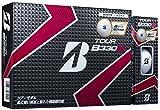 BRIDGESTONE(ブリヂストン) ゴルフボール TOUR B TOUR B330X BマークEdition ホワイト 1ダース ユニセックス GBBXT ホワイト