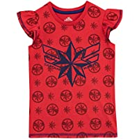 Disney Girls Captain Marvel T-Shirt