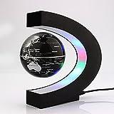 地球儀 C型 磁気浮上 世界地図...