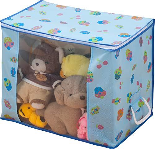 アストロ おもちゃ収納ケース 不織布製 取っ手付き 184-02