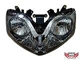 VITCIK Motorcycle Headlight Assembly for Honda CBR600F4i 2001-2007 CBR600 F4i 01 02 03 04 05 06 07 Head Light Lamp Assembly Kit (Black) [Airborne] [並行輸入品]