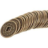 sharprepublic 幸運 コイン 合金 中国 風水 裕福なコイン 2センチメートル 約50個
