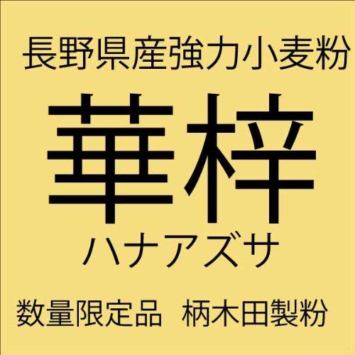 業務用 国産小麦粉100% 長野県産小麦粉華梓 (はなあずさ) 強力粉 10kg 紙袋