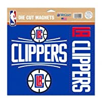 Los Angeles Clippers Official NBA 28cm x 28cm Car Magnet by Wincraft