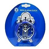 チェルシー フットボールクラブ Chelsea FC オフィシャル商品 目覚まし時計 アラームクロック (ワンサイズ) (ブルー)