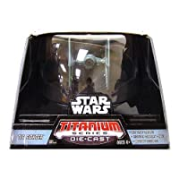 Titanium Series Star Wars Ultra Vehicles TIE Fighter by Hasbro [並行輸入品]