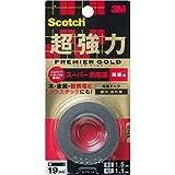 3Mスコッチ超強力両面テーププレミアゴールドスーパー多途粗面KPR-19