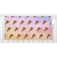 KESS InHouse Juan Paolo Lucid Pizza Food Pattern Fleece Baby Blanket 40 x 30 [並行輸入品]
